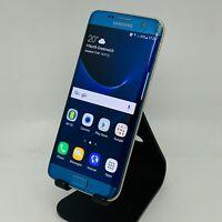 Samsung Galaxy S7 Edge SM-G935F 32GB Unlocked Smartphone - Coral Blue / Gold