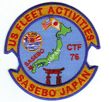 Us Navy Base Patch, Sasebo Us Fleet Activities Japan