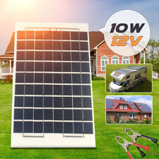 10W 12V Cell Solar Panel Module Battery Charger Car Boat Camping + 4m Cable