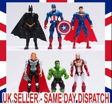 Super Heros Avengers Batman Spider man Iron Man Hulk Thor Captain Cake Toppers