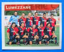 FIGURINA MERLIN CALCIO 99 - N. 582 - SQUADRA - LUMEZZANE - new