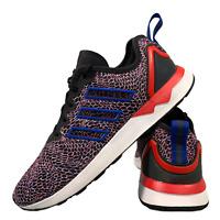 Adidas ZX Flux Torsion Men's Shoes Size Uk 8.5 Blue Red Sports Trainers EUR 42.5