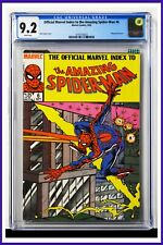 Amazing Spider-Man Marvel Index #6 CGC Graded 9.2 Marvel 1985 Comic Book.