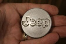 1997-2001 Jeep Grand Cherokee Wrangler Center Cap SILVER OEM  5DY07TRMAB