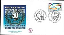 2975+  FRANCE ENVELOPPE  1er JOUR     ORGANISATION DES NATIONS UNIS