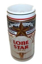 """LONE STAR - The National Beer Of Texas Very Rare Numbered 8"""" Beer Stein Mug"""