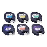 Compatible pour DYMO Letra ETiquette Bande D'éTiquette 91200 91201 91202 Y9G3
