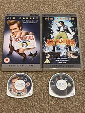 Ace Ventura Pet Detective & Nature Calls UMD Movies for PSP Will Ship Worldwide!