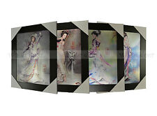 3 Dimension 3D Lenticular Picture Ancient Chinese Four Great Beauties Ladies