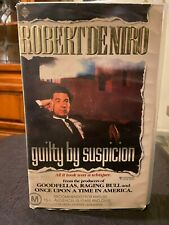 Guilty by Suspicion Ex-rental VHS video tape Roadshow Robert De Niro courtroom