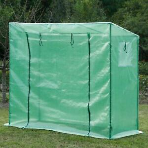 Greenhouse Frame & Cover Plastic Tomatoes Veg Plants Flowers Without Shelves NEW