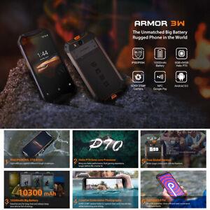 "Ulefone Armor 3W 5.7"" NFC IP68 IP69K 6GB 64GB Octa Core Waterproof"