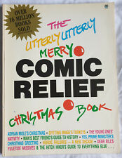 The Utterly Utterly Merry Comic Relief Christmas Book 1986 Douglas Adams