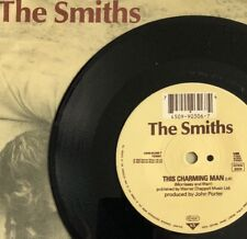"THE SMITHS -This Charming Man- German Mispress WEA 7"" In Pic Sleeve/Vinyl Record"