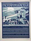 Chuck Sperry Railroad Revival Tour. Mumford & Sons, Old Crow, Edw. Sharpe ed:100