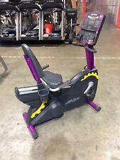 Life Fitness Integrity Recumbent Bike (Purple) | Commercial Cardio Equipment