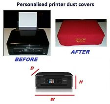 epson ,printer dust cover,personalised hand made,canon ,samsung,brother,20 wide