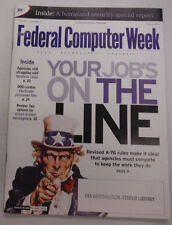 Federal Computer Week Magazine Your Jobs On The Line June 2003 071515R