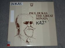 Paul Dukas~The Great Sonata~Arion ARN 90617~Italian IMPORT~FAST SHIPPING!!