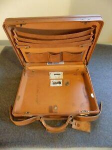 Vintage Hartmann Leather Attache Briefcase