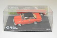. ALTAYA IXO OPEL COLLECTION OPEL KADETT A COUPE RED-ORANGE 1962-1965 MINTBOXED