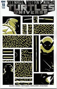 TMNT Teenage Mutant Ninja Turtles Universe #18 IDW Cover B  EASTMAN 1ST PRINT