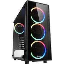 Sharkoon TG4 RGB, Tower-Gehäuse, schwarz