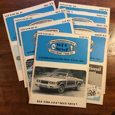 §WPC News Magazine **LOT from 1985 (8)**