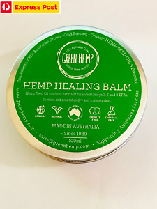 2 x Hemp Seed Oil Healing Balm Organic Natural No Chemical Free Express Shippin