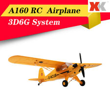 XK A160 5CH 6-Axis Brushless Motor 3D6G Airplane Aircraft Real RC Glider Toys