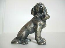 St. Bernard Dog Pewter Figurine - the Most Unique Pewter Figurine