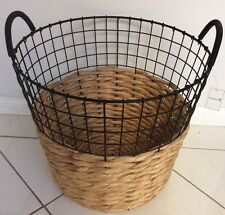 FREEDOM MARSHALL STORAGE BASKET. NEW WITH TAGS. RRP $119