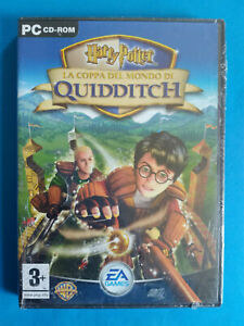Videogame Pc Cd-Rom HARRY POTTER La Coppa Del Mondo Di Quidditch SIGILLATO (D4)