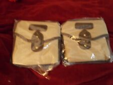 2 Vintage, New Nikon Canvas Lens/Accessories Pouch Bag made in Japan - Reduced