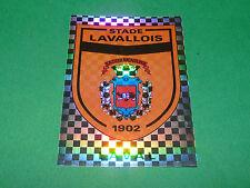N°318 BADGE ECUSSON STADE LAVALLOIS LAVAL D2 PANINI FOOT 94 FOOTBALL 1993-1994