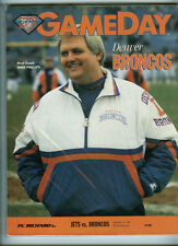 DENVER BRONCOS vs/at NY JETS OFFICIAL NFL GAMEDAY PROGRAM 9/11/1994 NY 25-22 OT