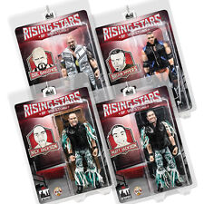 Rising Stars of Wrestling Action Figure Series 1: Set of all 4