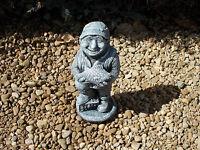 Fisherman statue concrete garden ornaments