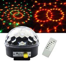 Mp3 & LED Mini RGB Crystal Party Magic Ball Effect Light DMX Disco DJ Stage