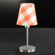 Honsel Greta Lampe de Table Lampadaire Chrome & orange / blanc (95011)