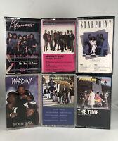 Ultimate Lot Of 6 Black Ensemble Group Cassette Tape Set Whodini Klymaxx