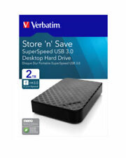 HARD DISK ESTERNO Verbatim 47683 2TB Store n Save 3,5 USB 3.0