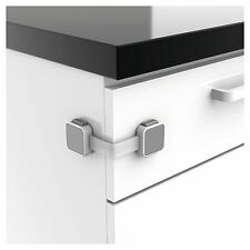 Lindam Xtra Guard Dual Locking Multi-Purpose Latch,  Cupboard / Drawer Lock