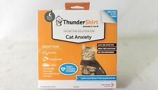 ThunderShirt Insanely Calm Anxiety Jacket for Cats Solid Gray Size Large