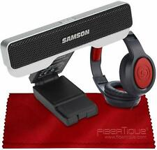 Samson Go Mic Connect Portable Stereo USB Microphone W/Focused Pattern Technolog