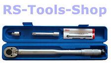 """Drehmomentschlüssel 1/2 """" + 3/8 """" Adapter 28 - 210 NM Drehmoment Werkzeug BGS 98"""