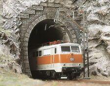BUSCH 7024 H0, 2 Tunnelportale, E-Lok Portale, 1-gleisig, Neu