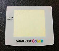 White Game Boy Colour Replacement Plastic Screen Lens - UK Dispatch