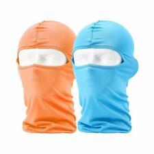 2xBalaclava Face Mask Bandana Tube Uv Sun Dust Protection Neck Gaiter Full Cover