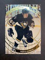 2001-02 Topps Stadium Club Perennials #P9 Mario Lemieux Pittsburgh Penguins 🐧